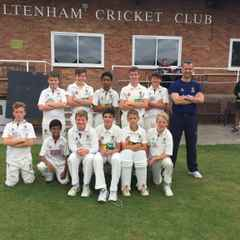 Cheltenham U13s win league