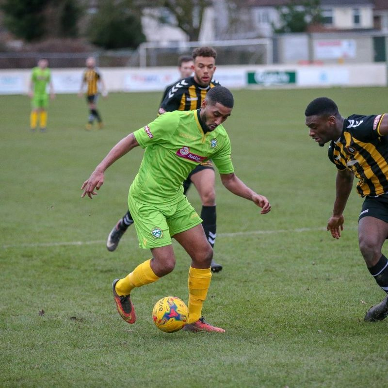 REPORT I Barwell 1 St Ives Town 1