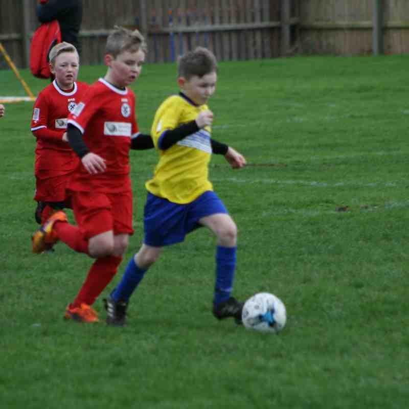 GBCU9's v Clee Town Pattesons 24.1.16