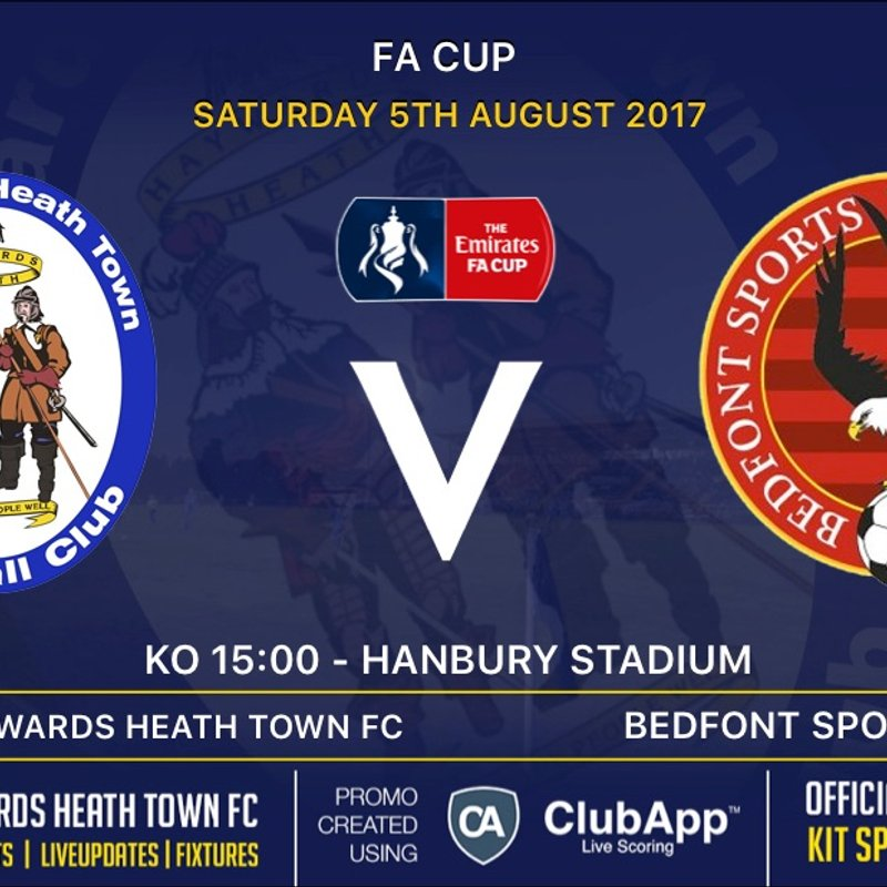 Heath's F.A Cup Opponents Revealed!