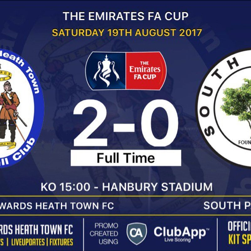 Haywards Heath Upset South Park To Progress In The F.A Cup