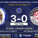 Heath Stay Top With Win Against Saltdean