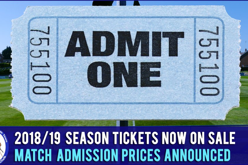 2018/19 Heath Season Tickets & New Match Day Pricing Announced