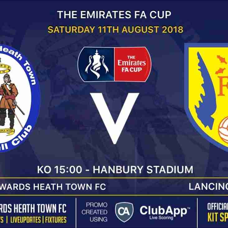 Match Preview: Haywards Heath vs Lancing FC - Emirates FA Cup