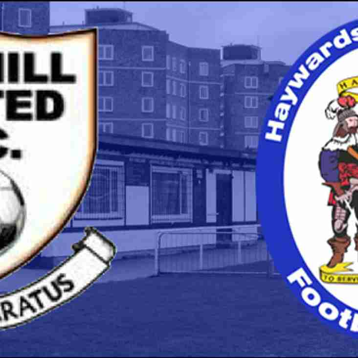 Heath Drawn Away To Bexhill United  In RUR Cup