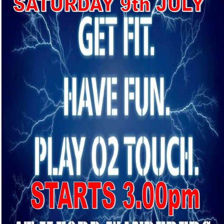 O2 TOUCH RUGBY<