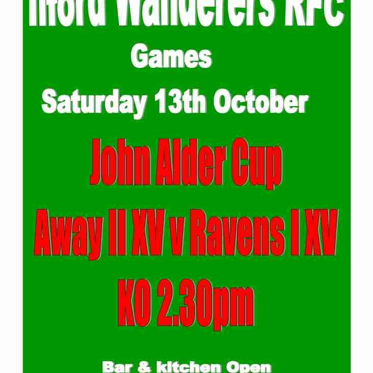 Game Saturday 13.10.18