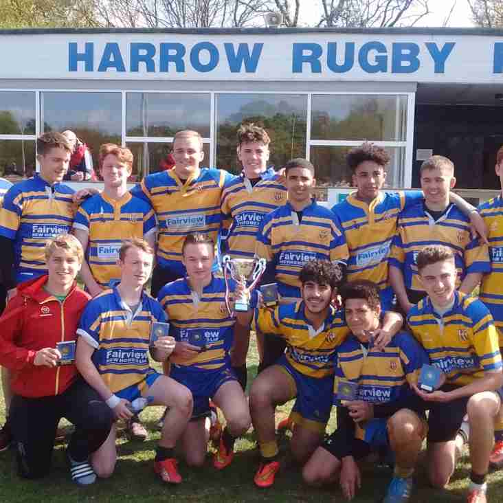 IGNATIANS YOUNGSTERS SPARKLE IN HARROW TENS TOURNAMENT