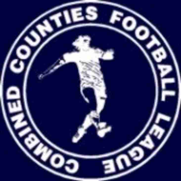 Combined Counties constitution for 2019/20 season released.