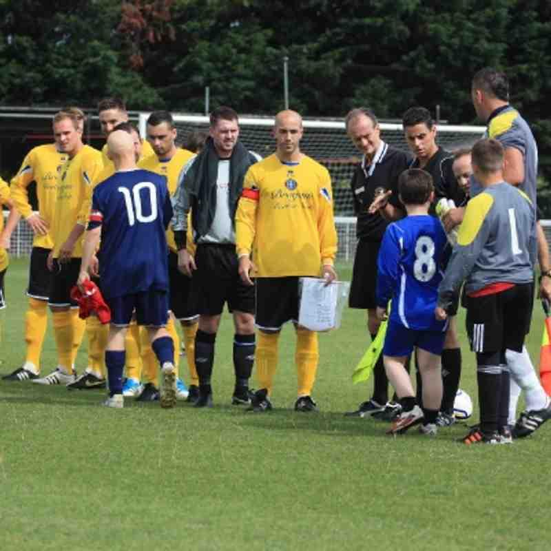 FA Cup v Badshot Lea