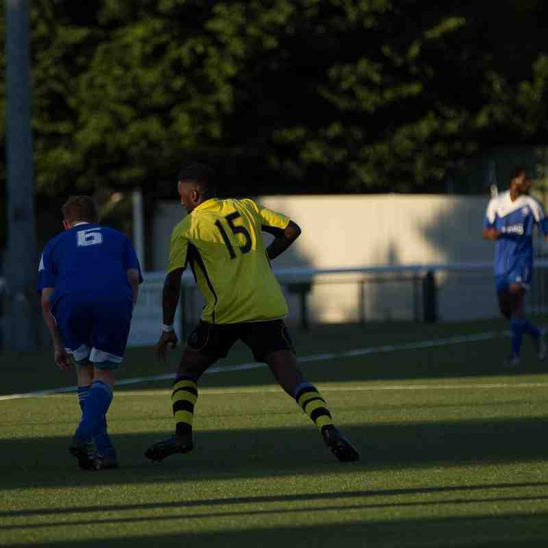 SCR v Chessington & Hook Utd (pre-season)