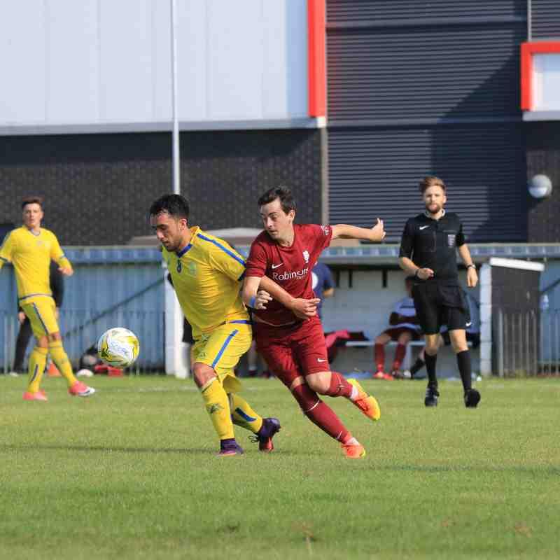 FA Cup v Canterbury City 5.8.17