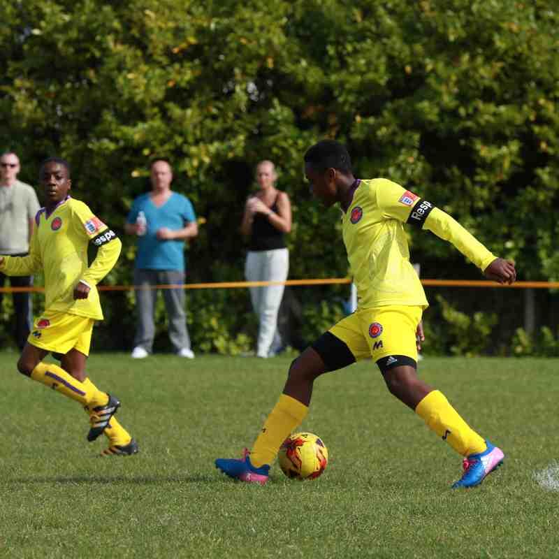 U13 Yellows v Sheen Lions (county cup 24.9.17)