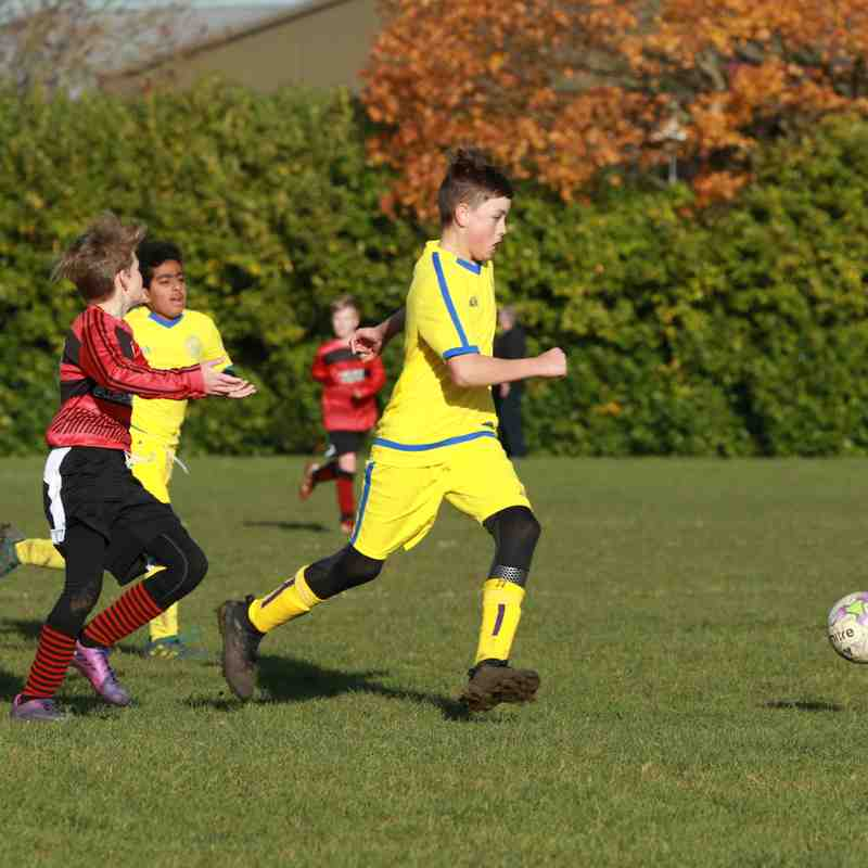 U13 Purples v Bedfont Sports (19.11.17)