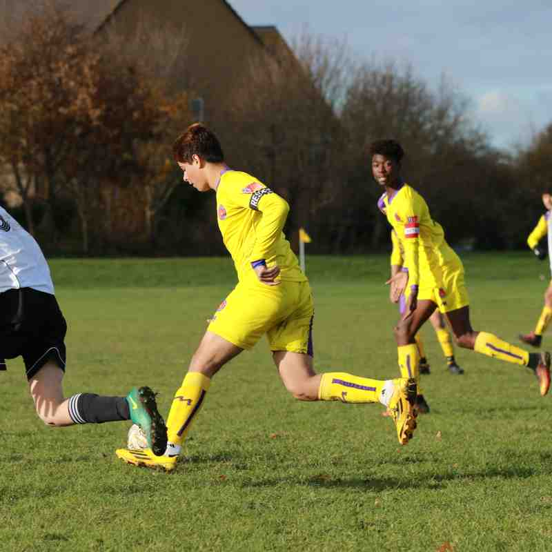 U15 Yellows v Elm Grove (26.11.17)