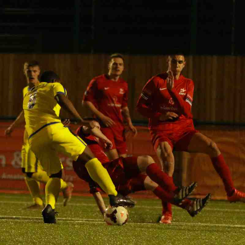 U21's v Carshalton Athletic (Surrey Cup Final)