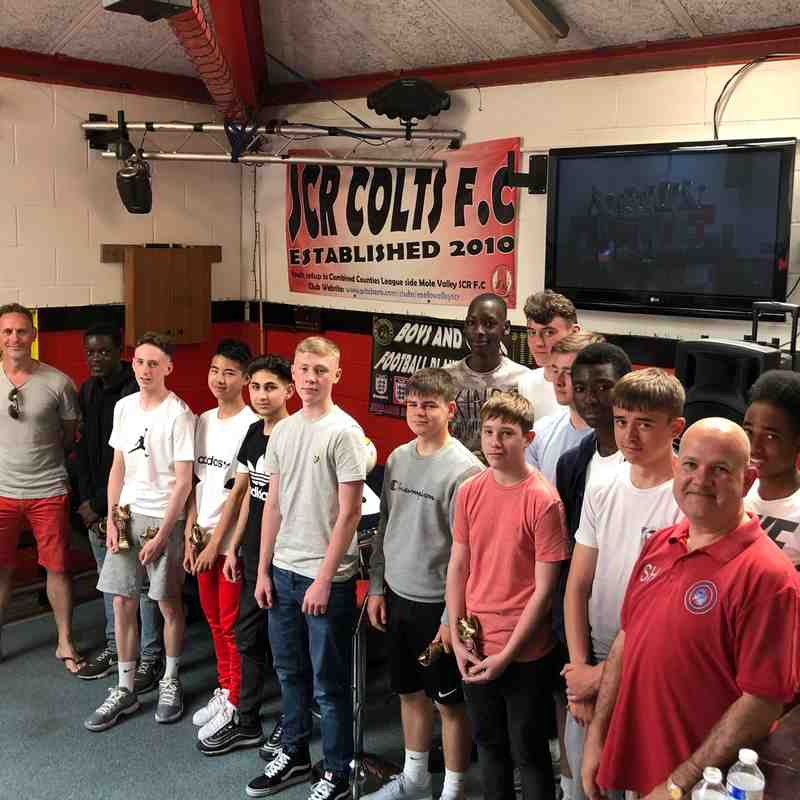 2017/18 Season Colts Presentation Day 1