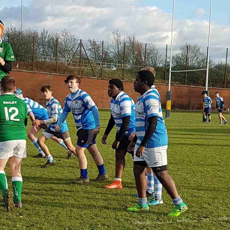 U15 v London Irish - Old Emanuel 26/11/17