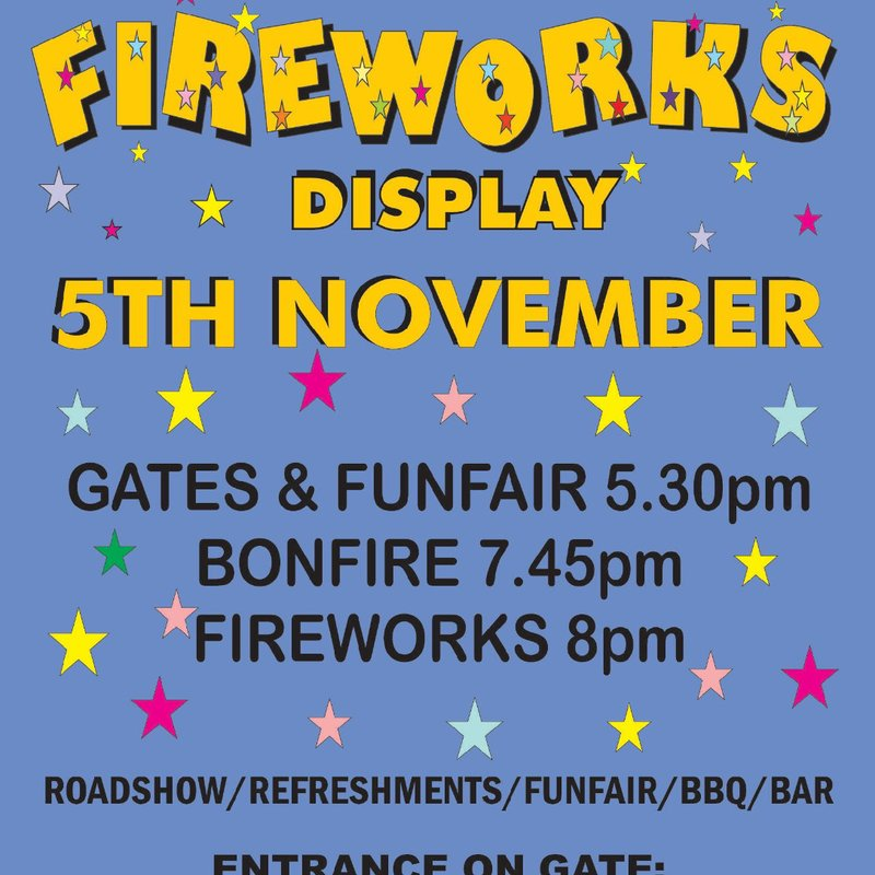 Guy Fawkes Display 5th November