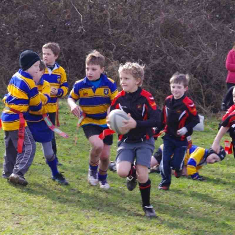 U8s win against Warminster 11th March