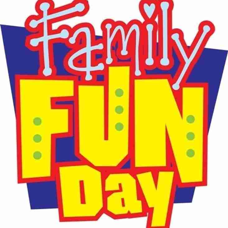 Family fun day - Saturday 2nd July @ SPRUFC