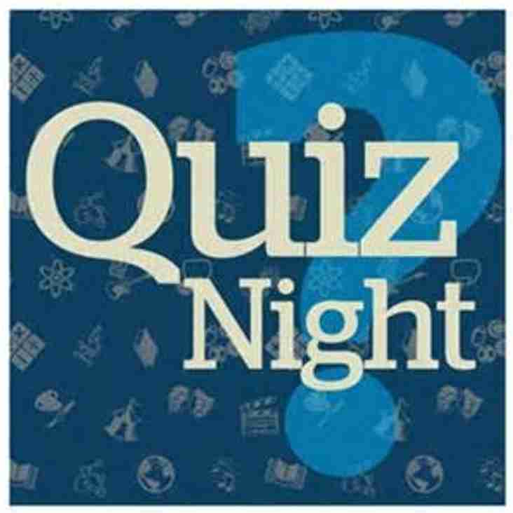 Quiz night this Friday (30th)