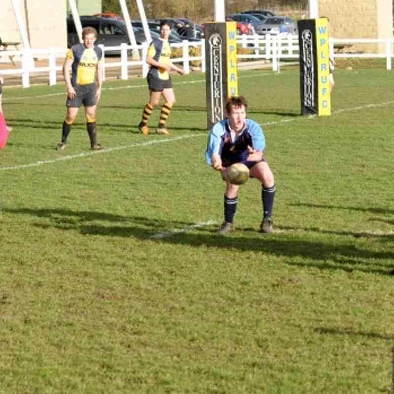 1st XV V West Park (Lost)