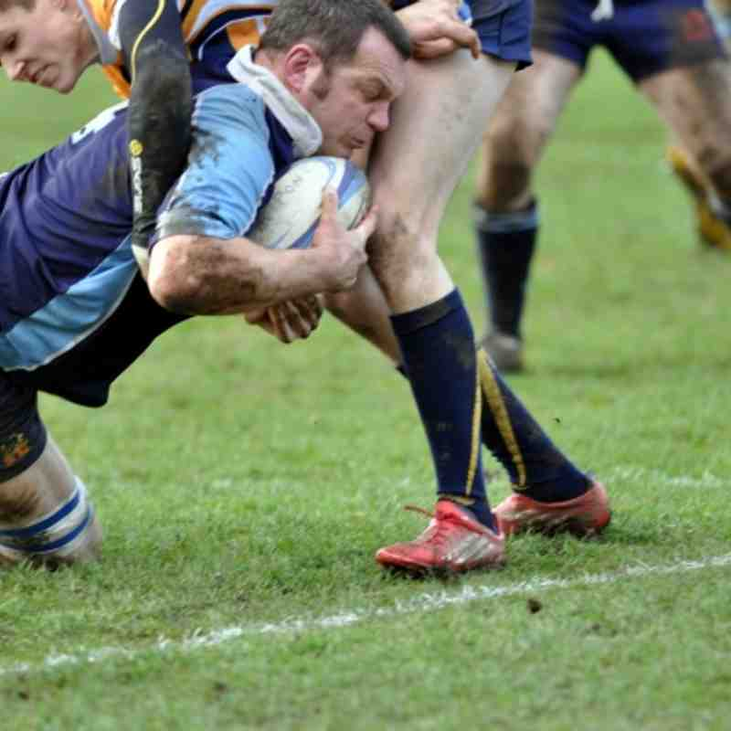 1st XV V West Leeds (Winning when game abandoned due to injured referee!)