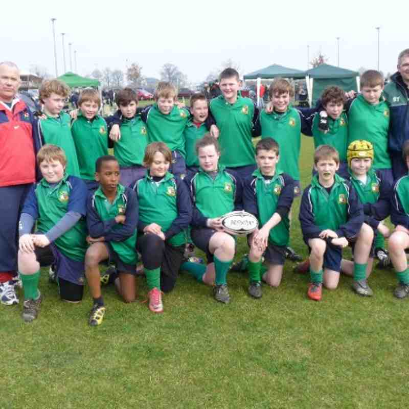 U12s County Festival March 27th 2011