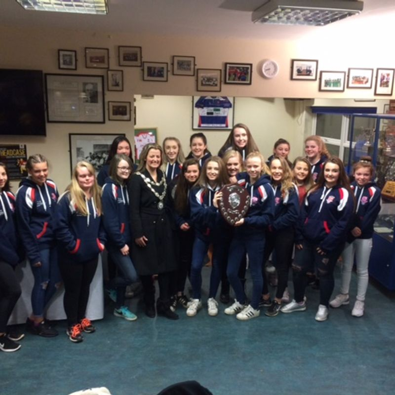 Leek Under 15 girls get through to cup final