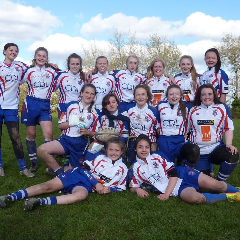 Great advert for Under 15's girls rugby