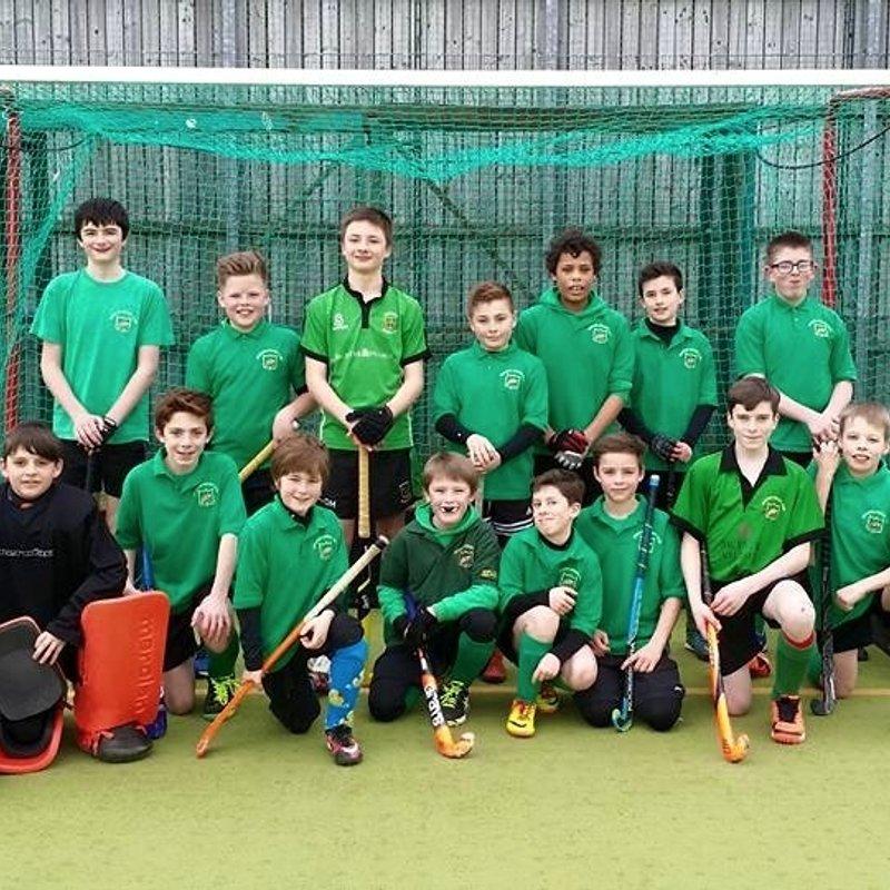 Bicester Hockey Club vs. Banbury U14 Boys