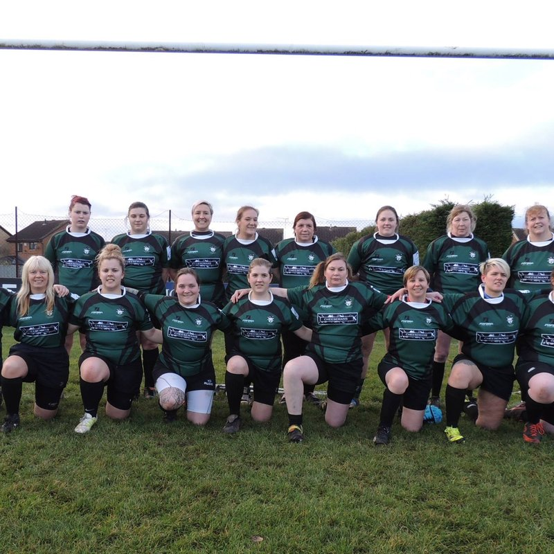 Ladies XV lose to West Norfolk Ladies 0 - 95