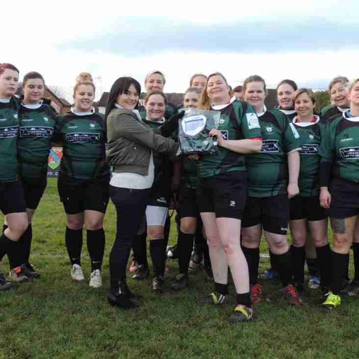 Cheeseman Barber's sponsors Ladies Team