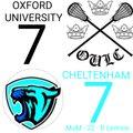 Oxford Uni v Cheltenham - SEMLA Div 2