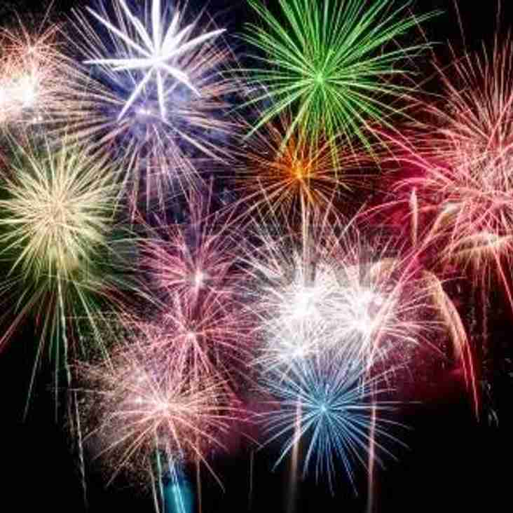Saturday 4th November - Sonning HC Fireworks Fun