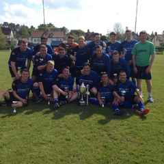 Berriew win League Cup