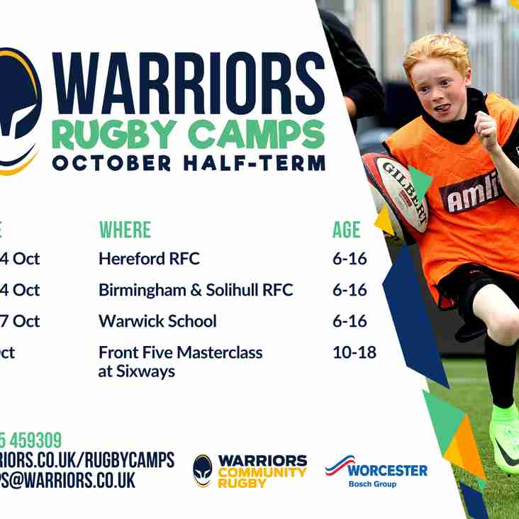 Worcester Warrior Rugby Camps