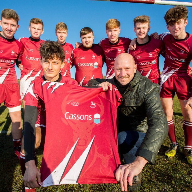 Thanks to Cassons for continued Colts sponsorship