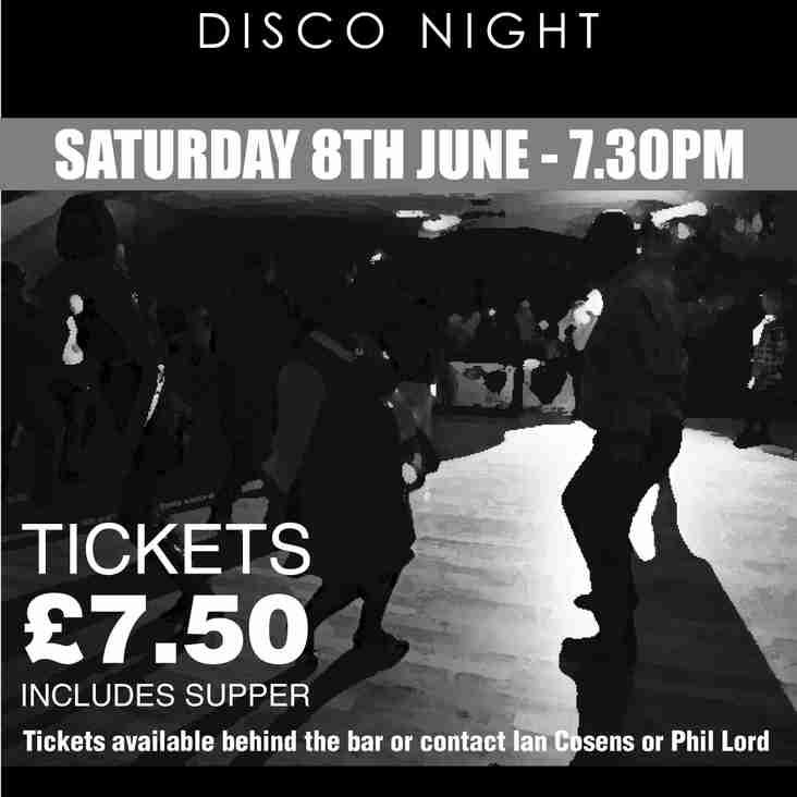 Sat 8th June - Northern Soul Disco Night