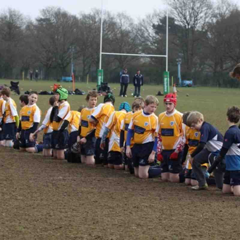 Rams U13s Win 1st league game VS Newbury 53-12