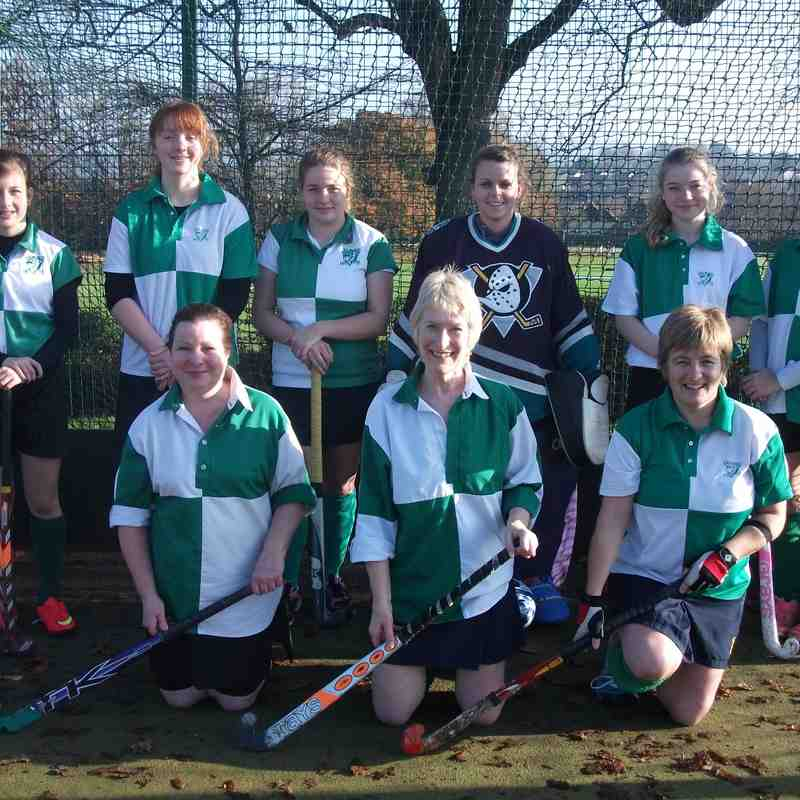 Season 2014/15- Ladies Sunday Team
