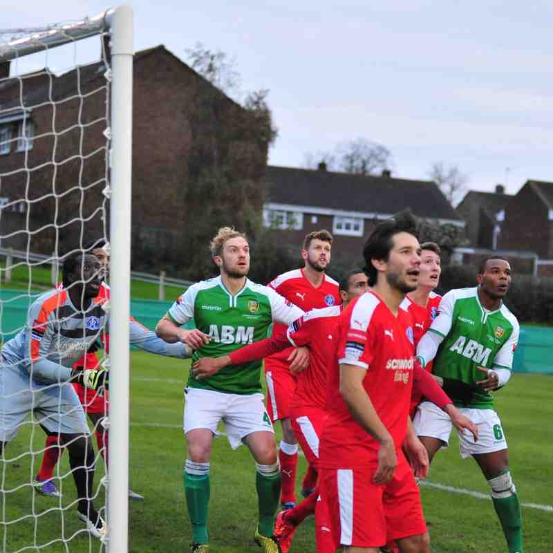 VCD Athletic v Leiston FC  28th Nov 2015