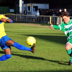 Romford v Thamesmead Town 30th Jan 2016