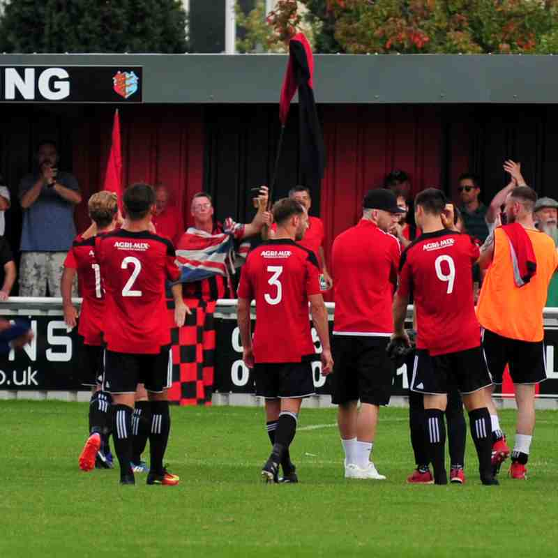 Brightlingsea Regent v Hendon  26th August 2017