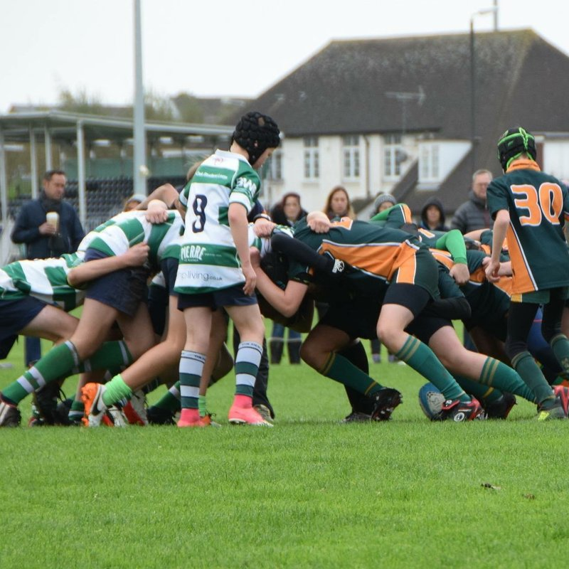 Melbourne U13's loses to a skilful Nottingham Corsairs