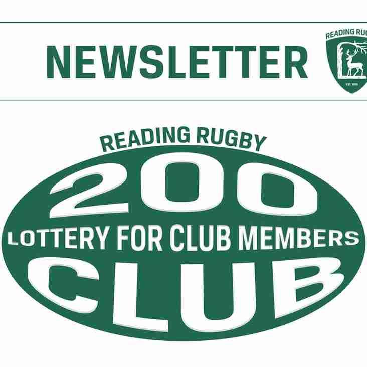 200 Club Newsletter