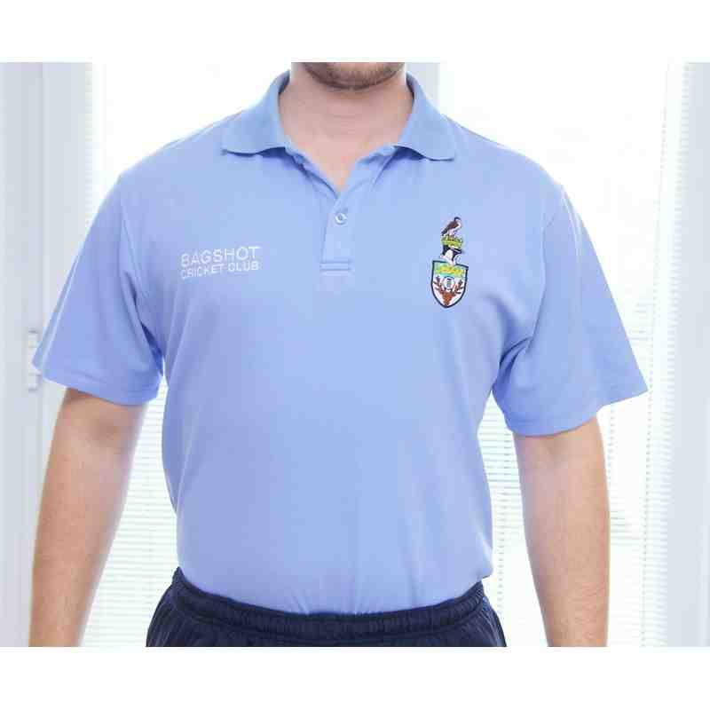 BCC Polo Shirt - Sky Blue - Senior