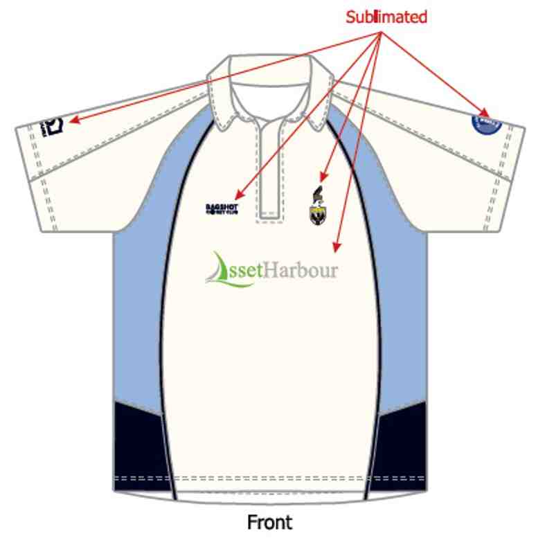 BCC Playing Shirt - White - Short Sleeve - Junior