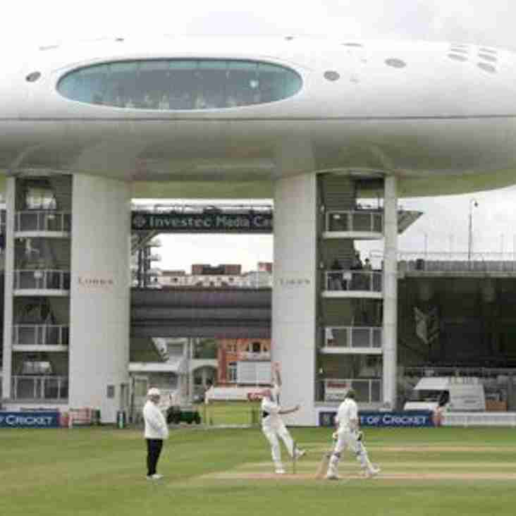 Come and see your Club play at Lord's